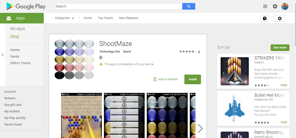 Shoot Maze – Android