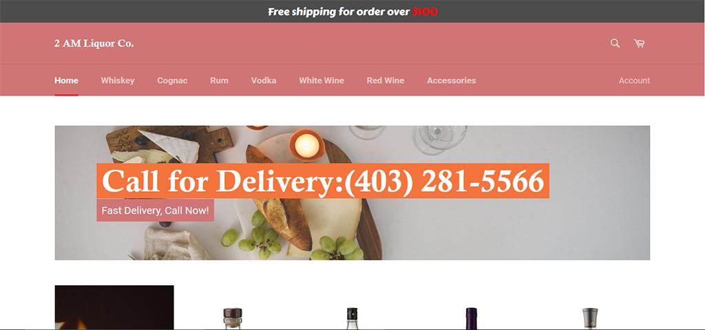 Wine calgary-Shopify – PHP Framework